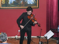 Galeria Kontynuujemy muzyczne wspominki. Za nami koncert muzyki skrzypcowej i wykład o Zbigniewie Seifercie