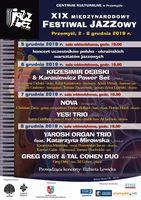 Galeria Przed nami 19. Edycja Międzynarodowego Festiwalu Jazzowego JAZZ BEZ…