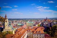 Miasto Przemyśl - Panorama Miasta z Zamku Kazimierzowskiego