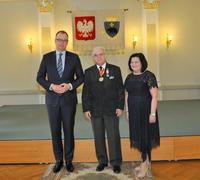 Galeria Medalowe małżeństwa. Pięć par z Przemyśla świętowało Złote Gody