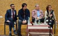 Galeria Spotkanie z Jeffreym Cymblerem, Renatą Frenkel - 29 stycznia 2020 r.